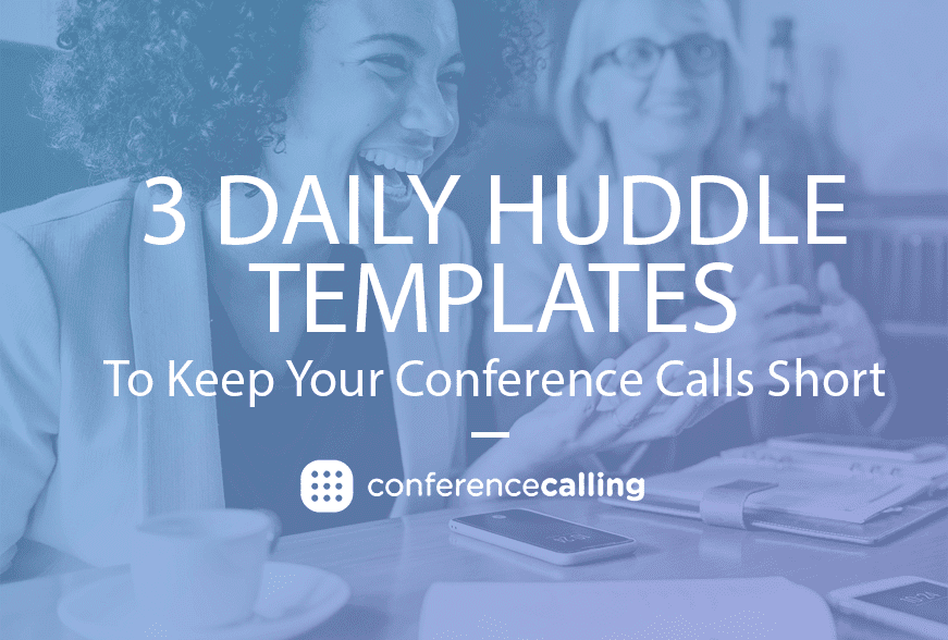 daily huddle templates